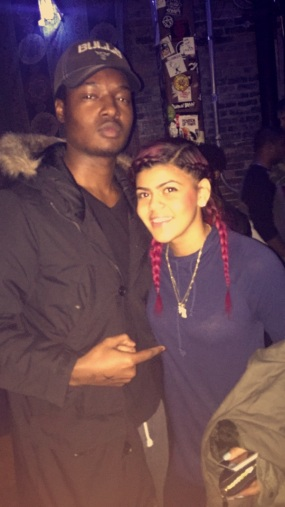 W/ Toni Romiti at Reggie's Rock Club for Give Back Chicago Toy & Food Drive Charity Concert